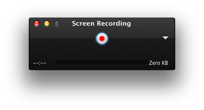QuickTime: Record your screen